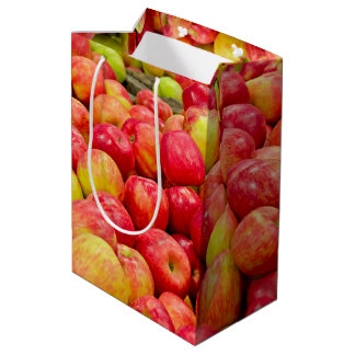 Michigan Apples Medium Gift Bag