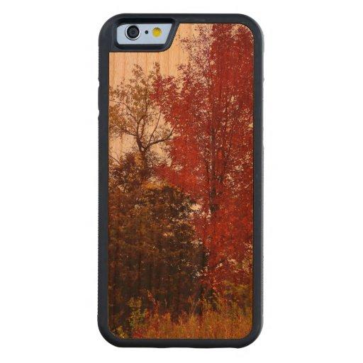 Michigan Autumn iPhone 6 Bumper Cherry Wood Case Carved® Cherry iPhone 6 Bumper Case