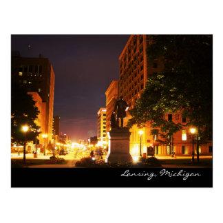 Michigan Avenue Lights Postcard
