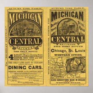 Michigan Central Railroad Poster