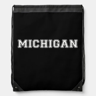 Michigan Drawstring Bag