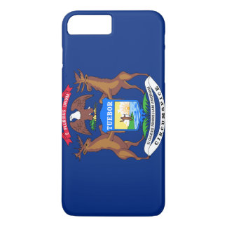 Michigan Flag iPhone 8 Plus/7 Plus Case