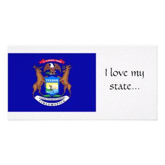 Michigan Flag Photo Cards