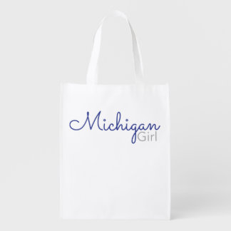 Michigan Girl Reusable Tote