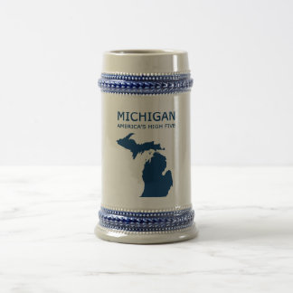 Michigan H5 Beer Stein