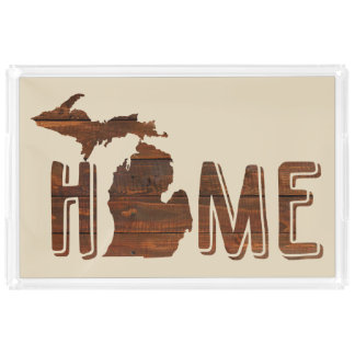 Michigan is Home | Wood Plank Look | Michigan