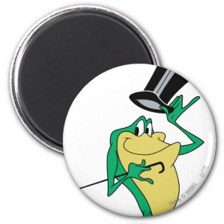 Michigan J. Frog in Color 6 Cm Round Magnet