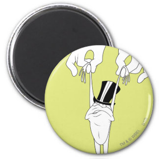 Michigan J. Frog with Help Refrigerator Magnets