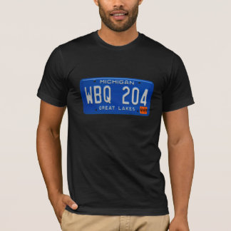 Michigan License Plate Tee