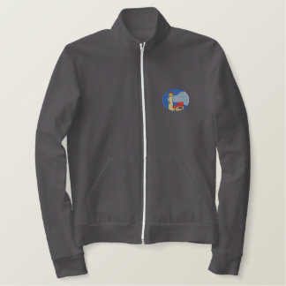 Michigan Lighthouse #1 Embroidered Jacket