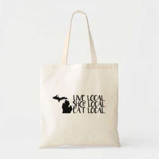 Michigan Live Local. Shop Local. Eat Local. Tote