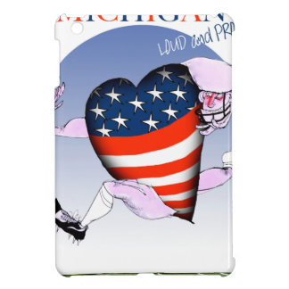 michigan loud and proud, tony fernandes iPad mini cover