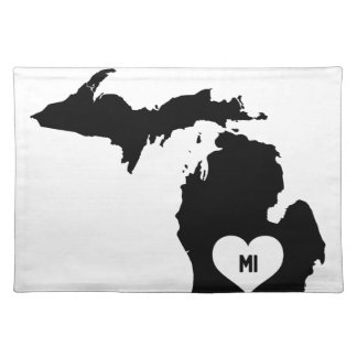 Michigan Love Placemat