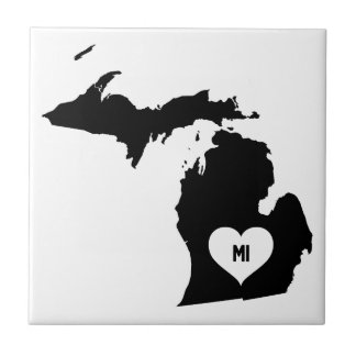 Michigan Love Tile