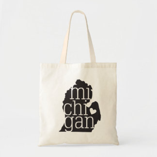 Michigan Love Tote Bag