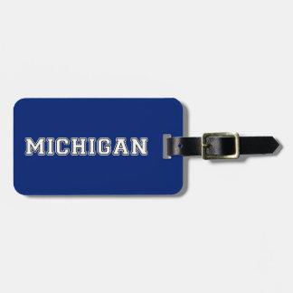 Michigan Luggage Tag