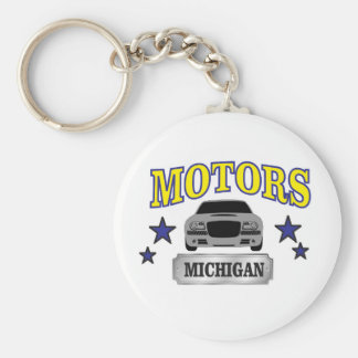 Michigan motors key ring