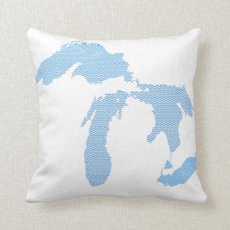 Michigan Pillow! Throw Pillow