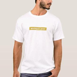Michigan Poet - yellow T-Shirt