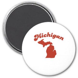MICHIGAN Red State Refrigerator Magnet