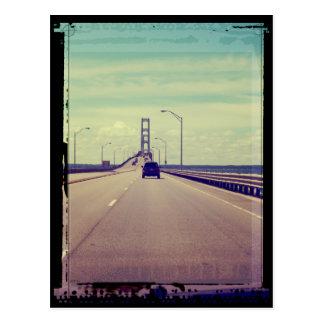 Michigan Road Trip Postcard