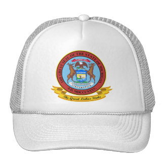Michigan Seal Trucker Hat