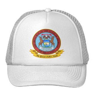 Michigan Seal Trucker Hats