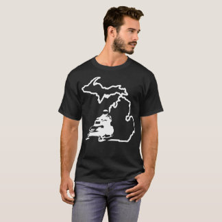 Michigan Snowmobile T-Shirt