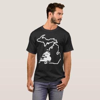 Michigan Snowmobile Tshirt