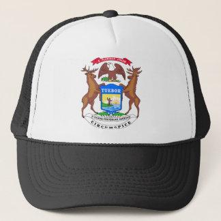 Michigan State Seal Trucker Hat