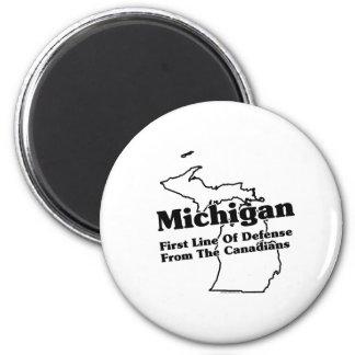 Michigan State Slogan Fridge Magnet