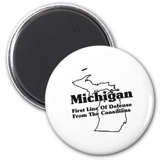 Michigan State Slogan Magnet