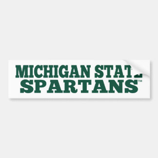 Michigan State Spartans™ Fan Bumper Sticker