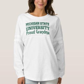 Michigan State University Proud Grandma Jersey