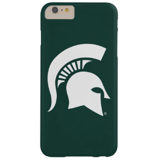 Michigan State University Spartan Helmet Logo Barely There iPhone 6 Plus Case