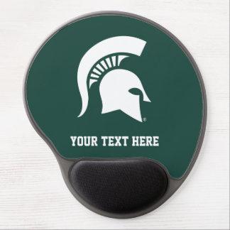 Michigan State University Spartan Helmet Logo Gel Mouse Pad