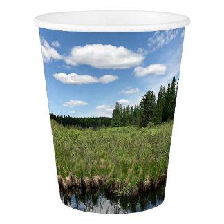 Michigan Summer Landscape Paper Party Cup