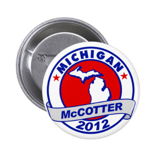 Michigan Thad McCotter Pinback Buttons