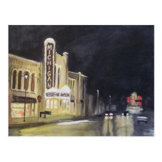 Michigan Theatre Ann Arbor Postcard