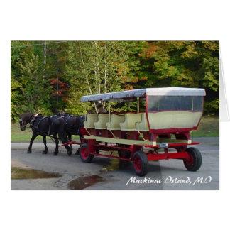 michigan_trip 024, Mackinac Island, MI Card