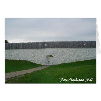 michigan_trip 079, Fort Mackinac, MI Card