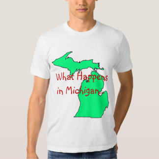 Michigan What Happens Tshirt