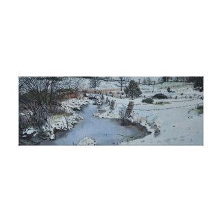 Michigan Winter Canvas Print