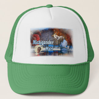 Michigander Man (Trucker Edition) Trucker Hat