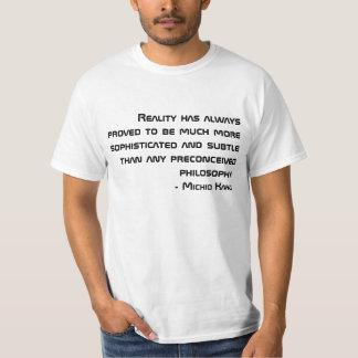 Michio Kaku Quote T-Shirt