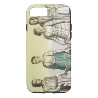 Michoacan Indians in Traditional Costume, Mexico ( iPhone 7 Case