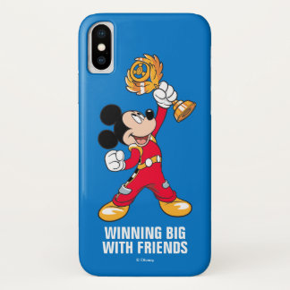 Mickey and the Roadster Racers | Mickey & Trophy iPhone X Case
