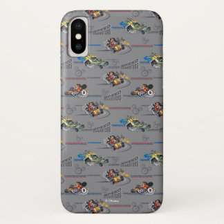 Mickey and the Roadster Racers Pattern iPhone X Case