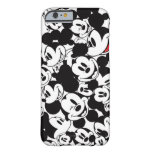 Mickey Crowd Pattern Barely There iPhone 6 Case