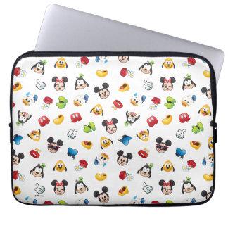 Mickey & Friends Emoji Pattern Laptop Sleeve